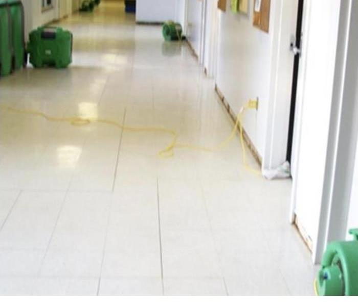 Water Removal In Commercial Facility